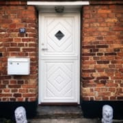 Eksempel på ny facadedør